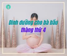Tư vấn dinh dưỡng cho bà bầu: Bầu 4 tháng nên ăn gì?