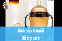 Bình sữa kamidi hỗ trợ bé cai ti có tốt không? Giá bao nhiêu? Mua ở đâu?