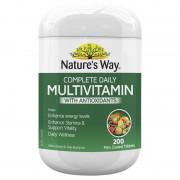 Vitamin tổng hợp Nature's Way Complete Multivitamin Úc 200 viên