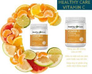 Vitamin C Healthy Care của Úc